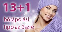 13+1 bőrápolási tipp az őszre